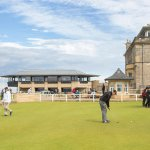 The British Golf Museum is right beside the Royal and Ancient Golf Club of St Andrews
