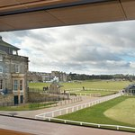 Cafe at the Museum has the most spectacular views of the famous Old Course.