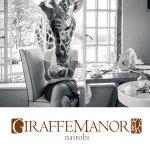 Breakfast time at Giraffe Manor!