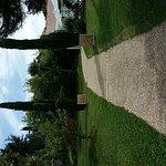 La piscine de l'hôtel et les jardins