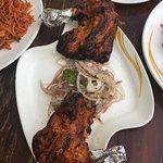 The famous Chicken Tandoori