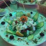 Feta Cheese Salad - delicious!