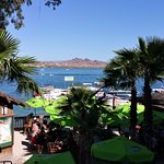 Turtle Beach Bar offers the Best View in Havasu