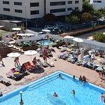 vue piscine du 3ème étage