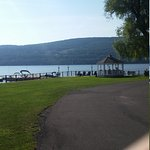 Fantastic Keuka Lakeside property adjacent to the lake with docks and boat launch.  Immaculate r