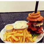 Famous rose tower burger
