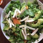 burrata salad with avocado