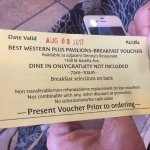 Breakfast Voucher