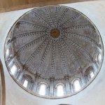 Detalle interior cupula catedral
