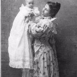 Hulda Bisland and Daughter Elizabeth