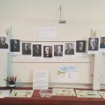 The schoolhouse exhibit.
