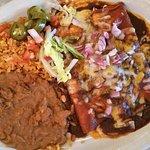 Classic Tex-Mex Enchilada