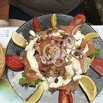 Salade au saumon (délicieuse)