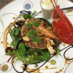 La salade de Homard bleu