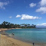 View During Breakfast of Napili Bay