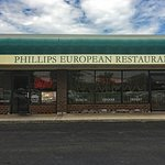 Phillips European Restaurant entrance