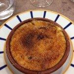 La crème brûlée basque