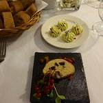 Complimentary pate appetiser