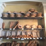 Beautiful display of breads right when you walk in!