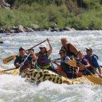 Fun rafting in Yellowstone!
