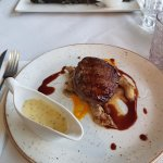Irish Beef Fillet and whole sea bass
