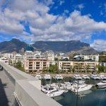 Afternoon view of Table Mountain and the marina.