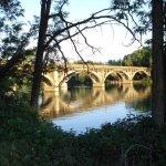 The historic Diestelhorst Bridge.