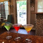 Have a Cosmo, Appletini, or Lemon Drop with your service!