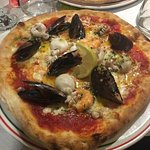 Pizza Parma + Frutti de Mar 👍