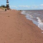 Wonderful relaxing beach to walk along.