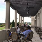 Patio at the winery