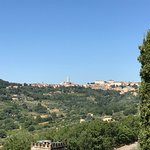 Perugia from a living room