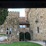 Castle/hotel near the entrance