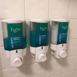 Body Wash / Shampoo / Conditioner dispenser in all hotel rooms!!