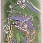 Map of entire resort
