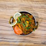 Indian food at Mumbai Junction Indian Restaurant in Harrow