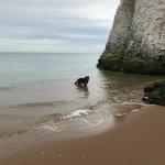 far end of beach