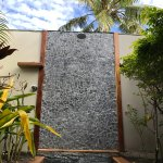 Outdoor shower for beach front villa #1