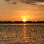 July Sun Set on Lake Dora in July 2017