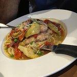 Swordfish and risotto