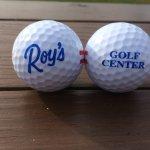 New golf balls