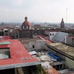 View of Mexico City, northward from north terrace.