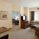 Our one bedroom suites have lots of room!