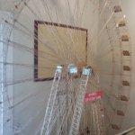 Ferris Wheel made of toothpicks