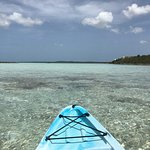 Some views from the property - kayaking in the sound, trail to Sapodilla Bay Beach. Amazing