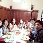 Group enjoy
