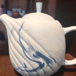 Teapot handmade from Battrang village
