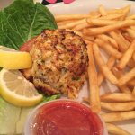 Lunch Special Crab Cake and fries