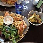salade de fritres de la mer