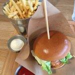 Burger from Ham Holy Burger John Lewis